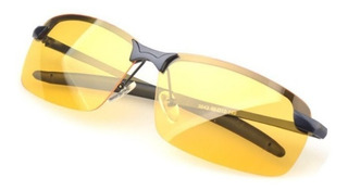 Óculos P/ Dirigir A Noite Amarelo Lente Polarizada Uv400