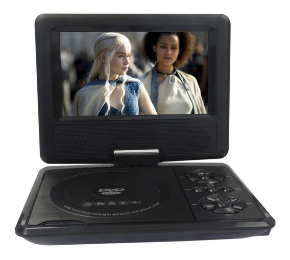 Dvd Portátil Com Tv,tela 8,8 Lcd Com Jogos Usb,sd Etc...