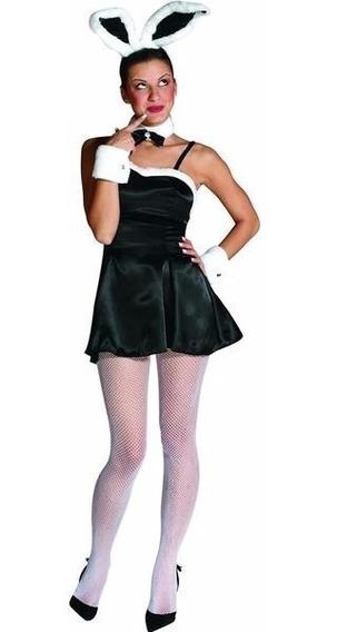 Disfraz Vestido De Conejita Sexy Playboy Con Accesorios