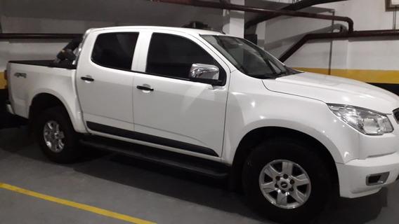 Chevrolet S10 2.8 Ls Cab. Dupla 4x4 4p 2014 Branca Diesel !!