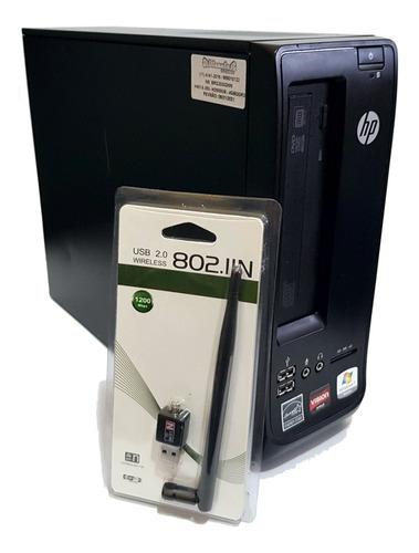 Cpu Mini Pc Hp 100b Amd E-350 4gb Ddr3  500gb Hd Wireless