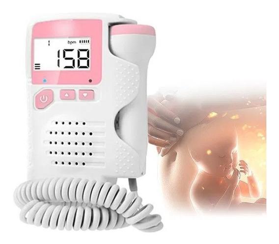 Doppler Fetal Sonar Monitor Cardíaco Bebê Gestação Gravidez B