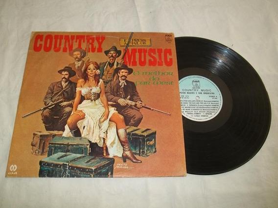 Lp Vinil - Country Music - O Melhor Do Far West