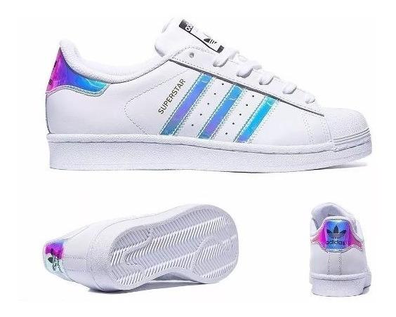 Tênis adidas Superstar Holográfico Feminino Original