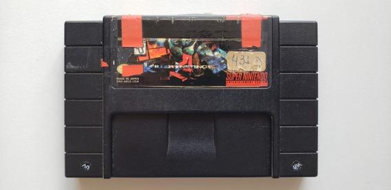 Killer Instinct Original Para Super Nintendo Cartucho Preto