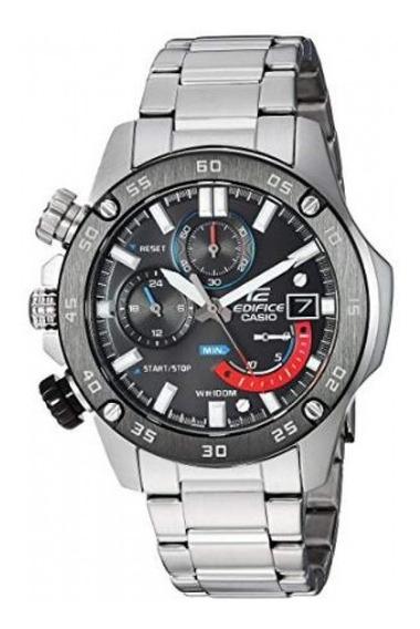 Casio Edifice Reloj Caballero Cronometro Acero Msi Ng
