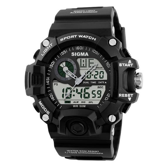 Relógio Sigma Si02ad