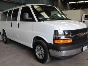 **excelente Chevrolet Express 12 Pasajeros 2017 Automatica