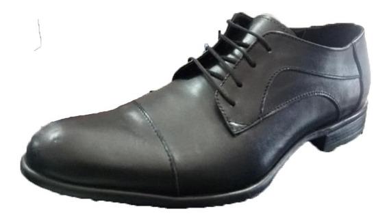 Zapato Punta Fina Vestir Acordonado (6000)