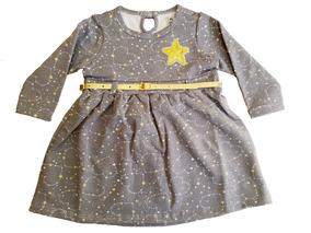 Roupa De Bebê - Vestido De Bebê Baby Star - Menina