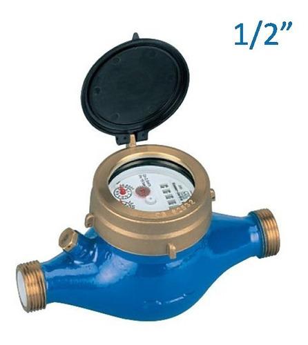 Caudalimetro Medidor De Agua Pasaje 1/2 . Roscas 3/4