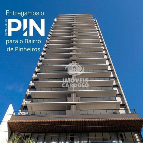 Imagem 1 de 23 de Apartamento Com 2 Dormitórios À Venda, 71 M² - Pinheiros - São Paulo/sp - Ap0542