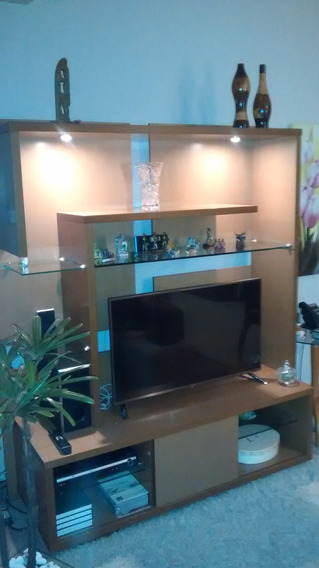 Linda Estante / Rack Para Tv 1,68 M X 1,96 M Completa