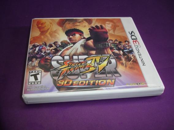 Street Fighter 4 Iv - Nintendo 3ds - Completo Impecável !!