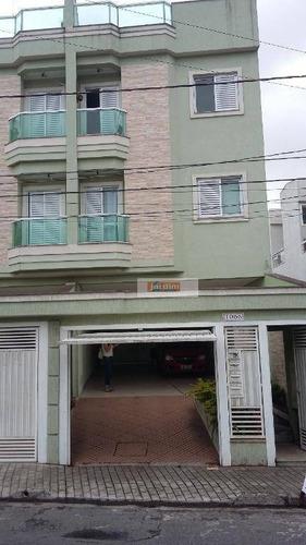Cobertura Com 2 Dormitórios À Venda, 104 M² Por R$ 360.000,00 - Parque Das Nações - Santo André/sp - Co1215