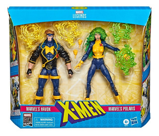 Xmen Marvel Legends X-force 2 Pack Hasbro E8613 Edu