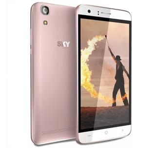 Smartphone Sky Fuego Dual 4g 5mp 5.0d Rosa