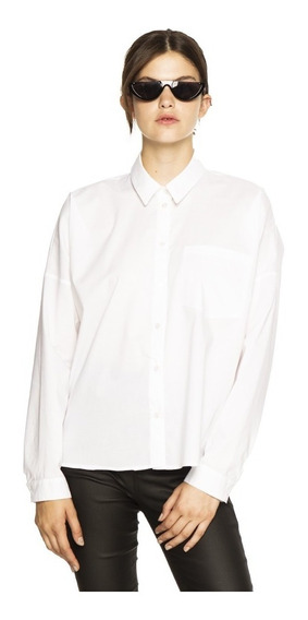 Camisa Osha Casual Poplin Manga Larga Mujer Complot