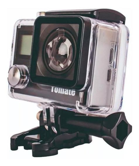 Câmera Ação 4k Wifi Mt1092+ Cartão 32gb+ Bateria Extra+ Bóia