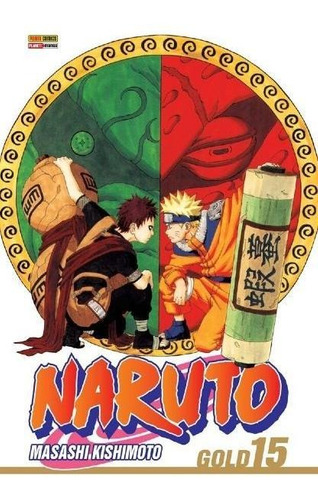 Naruto Gold - Vol.15 (relançamento)