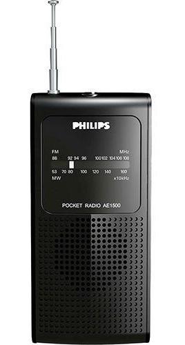 Rádio Portátil Philips Ae1500/78x À Pilha