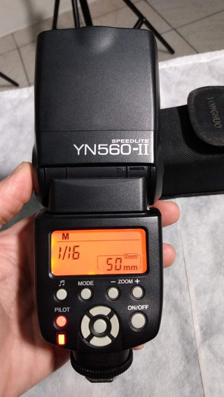 Flash Yongnuo Yn560ii Para Canon E Nikon (flash Manual)