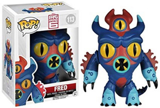 Big Hero 6 Funko Pop Fred 113 Funkopop Z