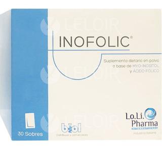Inofolic 30 Sobres Suplemento Dietario Fertilidad Femenina