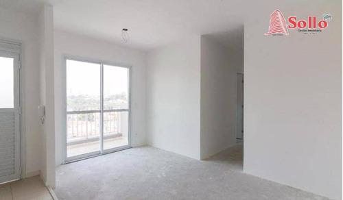 Apartamento 47 M² Com 2 Dormitórios E 1 Vaga  Por R$ 270.000 - Vila Galvão - Guarulhos/sp - Ap0593
