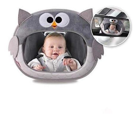 Espejo De Auto Búho Little Ones - Bebés Y Niños