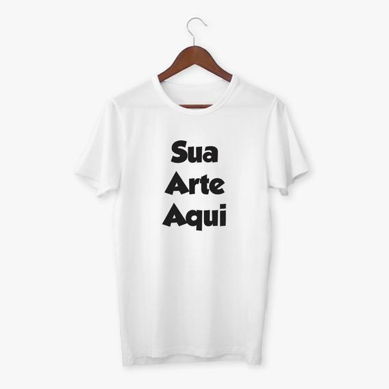 Camisa Personalizada Com Sua Imagem Ou Logo