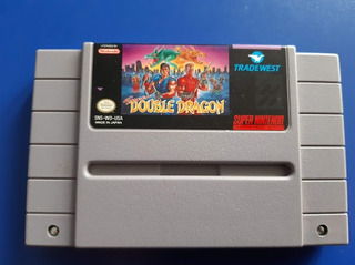 Juego Cassette Super Double Dragon Super Nintendo Snes