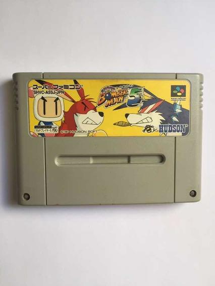 Super Bomberman 5 Snes 100% Original + Frete Grátis