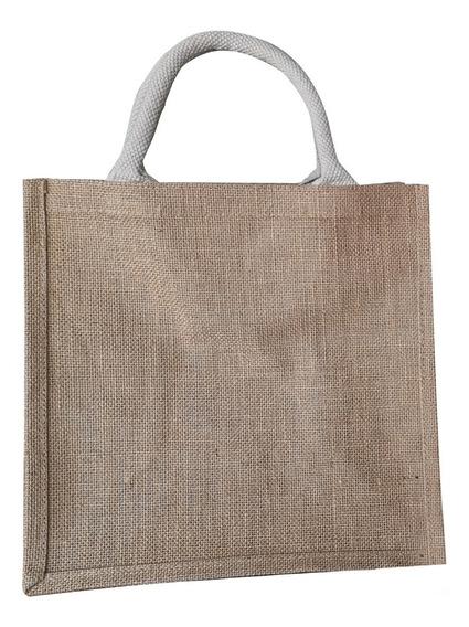Bolsa Yute Spring Para Supermercado Paquete 10 Piezas