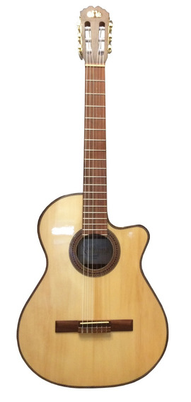Guitarra Electroacústica La Alpujarra 83kec Artec Libertella