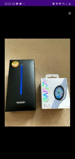 Galaxy Note 10+ Mais Galaxy Watch