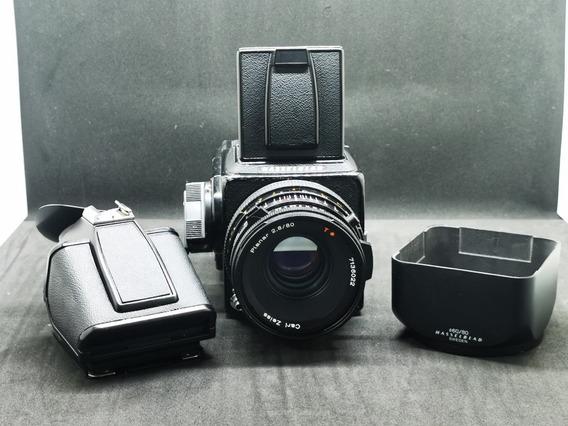 Hasselblad 500cm + Acute Matte Screen + Zeiss 80mm + Hood