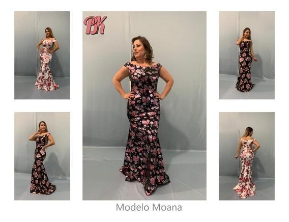 Vestido De Fiesta Modelo Moana