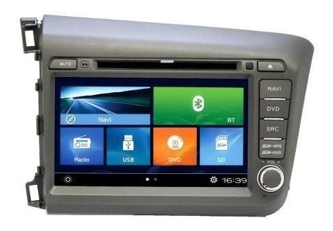 Central Mult Aikon Honda Civic 2014/15 Phonelink -ios