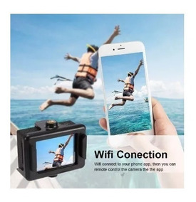 Mini Filmadora 4k Barata Sport Cam Camera + Controle Remoto