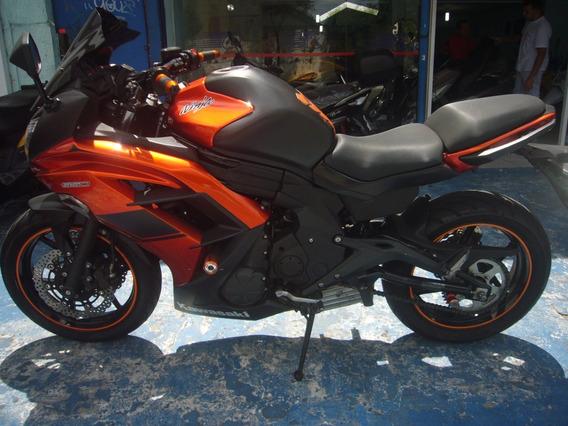 Kawasaki Ninja 650 R Laranja 2014 R$ 21.800 Troca Financia