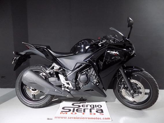 Honda Cbr250 Negra 2016