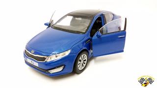 Miniatura Kia Optima K5 Azul 1:39 Welly R A R I D A D E