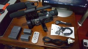 Câmera 3ccd - Jvc Gy-hm150 Prohd