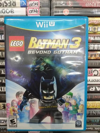Lego Batman 3 Beyond Gotham Wii U Parcelamento Sem Juros