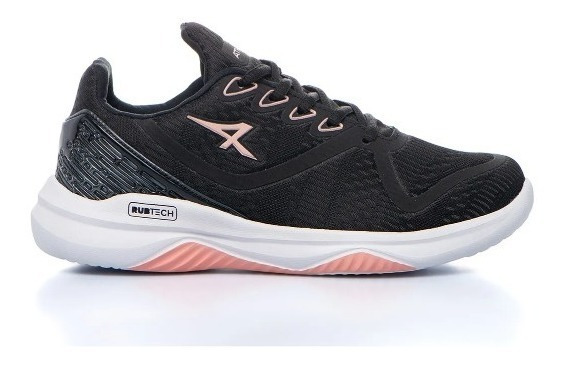 Zapatillas Athix Adrenaline Dama Negro Coral