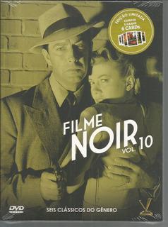 Dvd Filme Noir 10 Com Cards - Versatil - Bonellihq B19