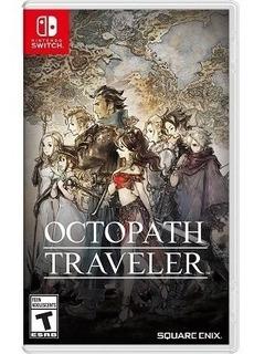 Octopath Traveler Nsw Nuevo Envio Gratis