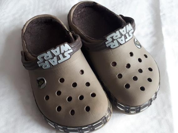Croc Originales Con Peluche Edición Star World J3