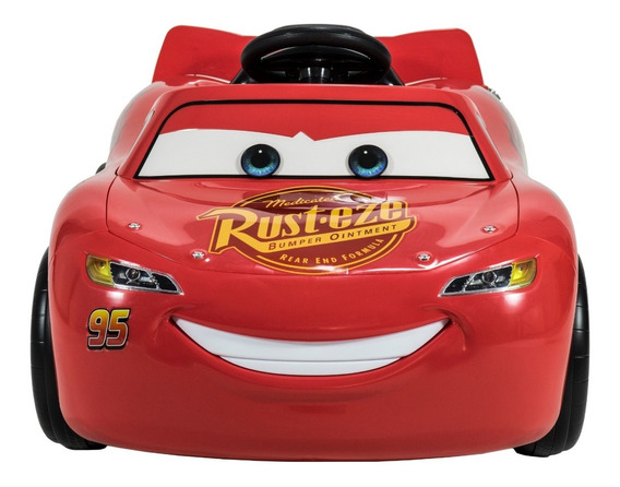 Auto A Bateria Infantil Rayo Mc Queen Disney Cars